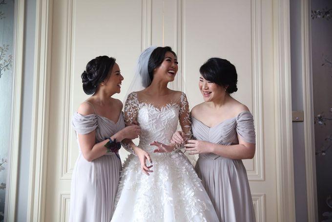 The Wedding of Eka & Naida by Imelda Hudiyono Bride - 003
