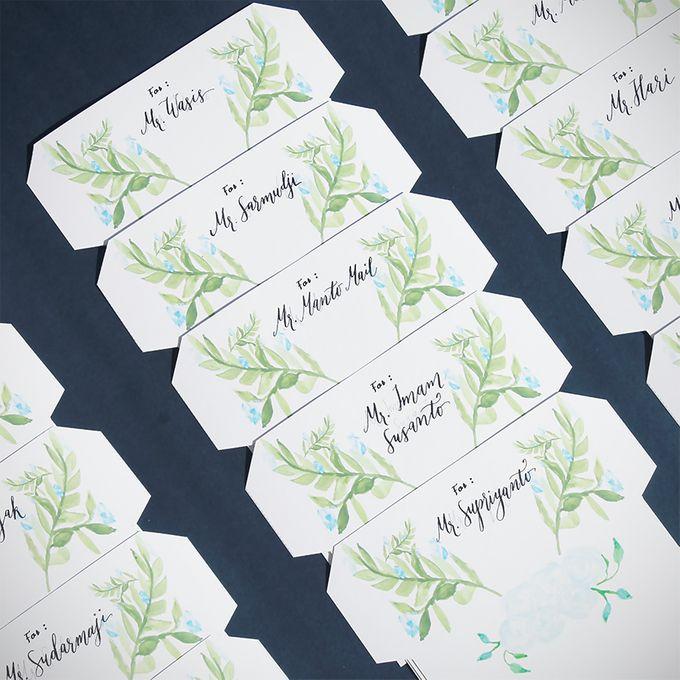 Deni & Alvenila Wedding Invitation by Meilifluous Calligraphy & Design - 003