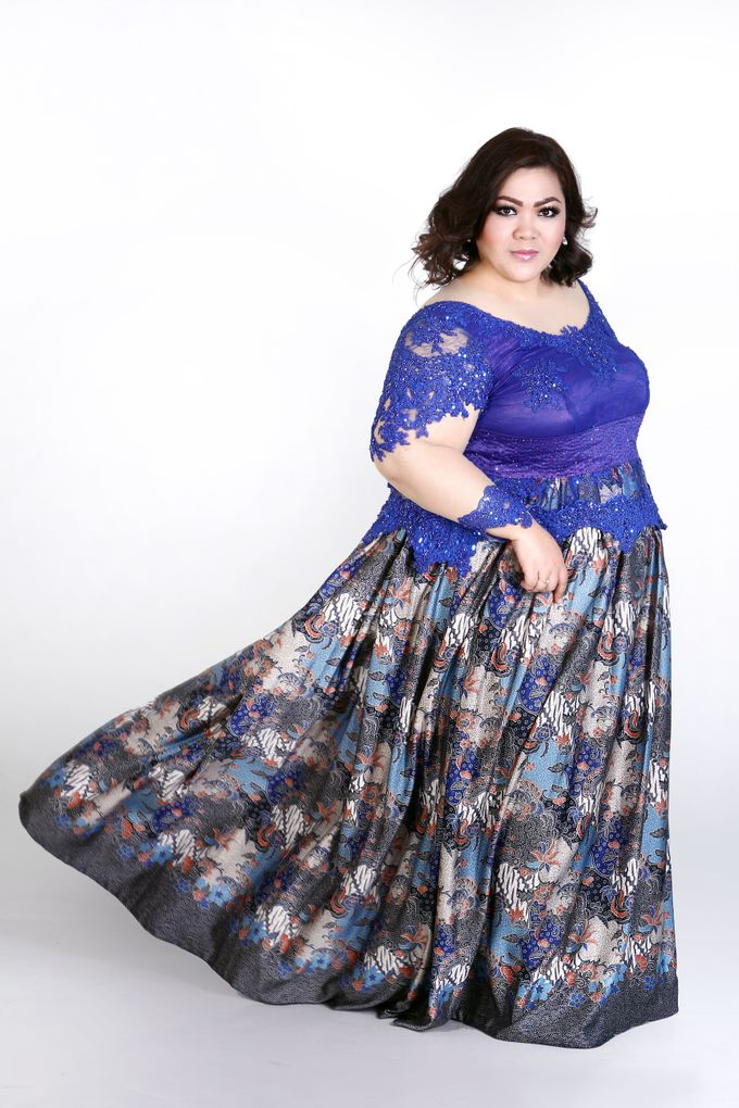 Our Exclusive Plus Size Kebaya and Formal Dress by Curvilínea by Pia Haryono - 003