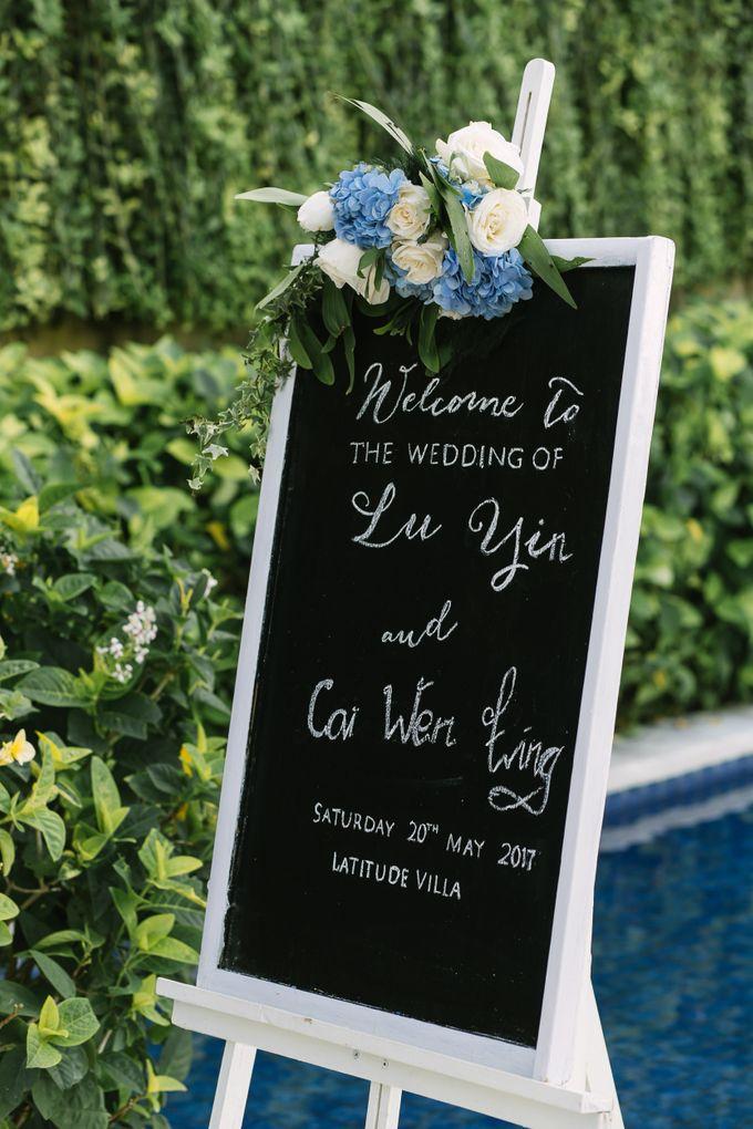 Lu yin & Cai Wen Ling Beautiful Wedding by Latitude Bali - 003