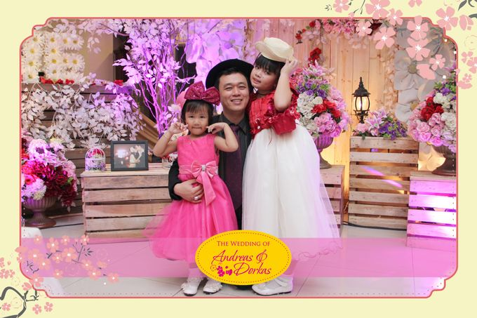 The Wedding of Andreas & Dorkas by After 5 Photobooth - 002
