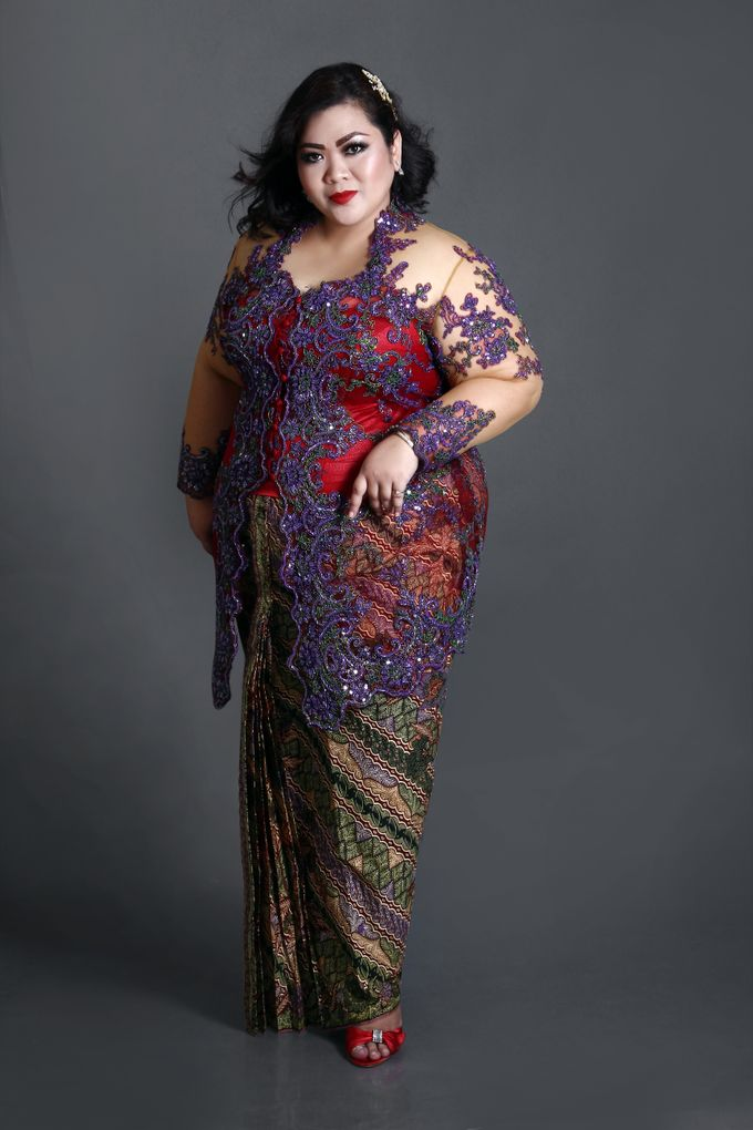 Our Exclusive Plus Size Kebaya and Formal Dress by Curvilínea by Pia Haryono - 005