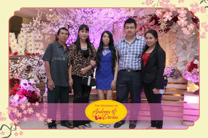 The Wedding of Andreas & Dorkas by After 5 Photobooth - 003