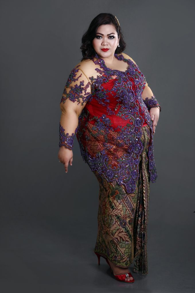 Our Exclusive Plus Size Kebaya and Formal Dress by Curvilínea by Pia Haryono - 006