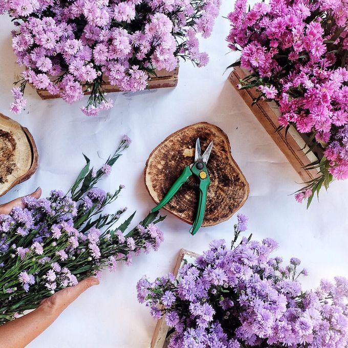 Table Decoration by Les Fleur Flower Design - 009