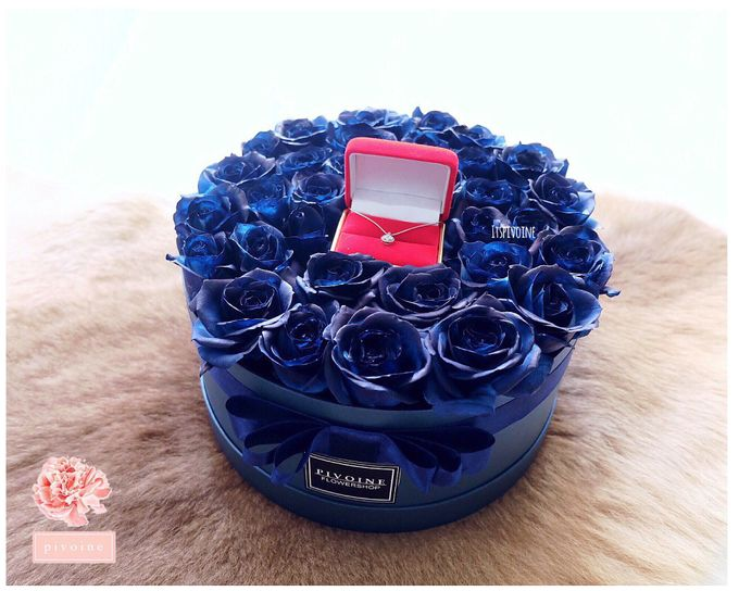 ring box by Pivoine Flower Shop - 024