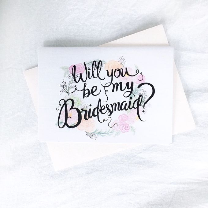 Will You Be My Bridesmaid Set by Bridesmaid & Co - 002