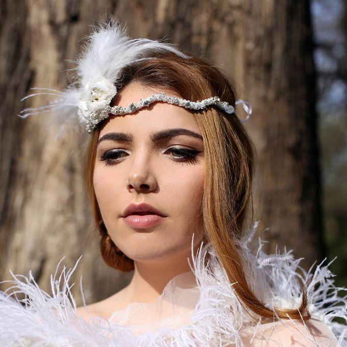 Gatsby Girl Hair Piece by AVIEL - 001