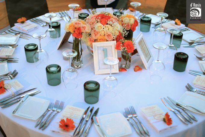 Wedding Pink & Purple Very Romantic by d'Oasis Florist & Decoration - 005