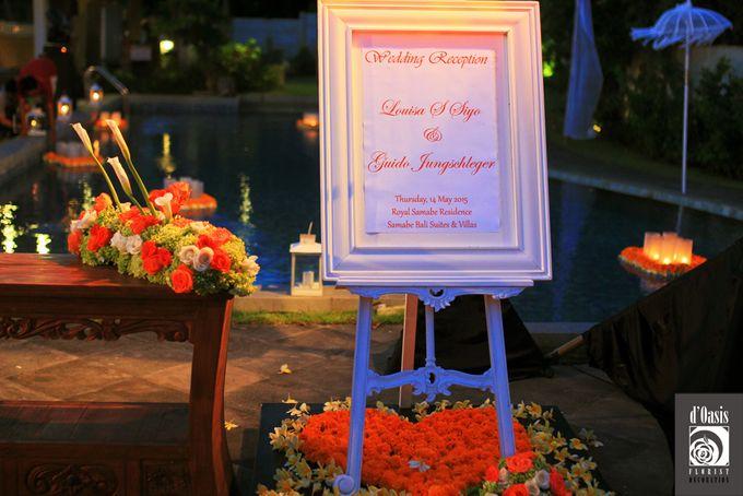 Wedding Pink & Purple Very Romantic by d'Oasis Florist & Decoration - 004