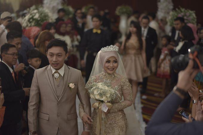 Fay & Dadit Wedding by Garland Galore Flower Shop - 008