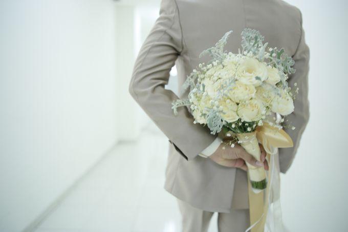 Fay & Dadit Wedding by Garland Galore Flower Shop - 001