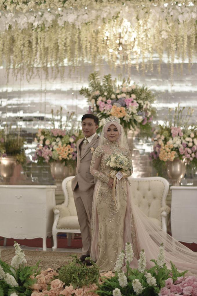 Fay & Dadit Wedding by Garland Galore Flower Shop - 009