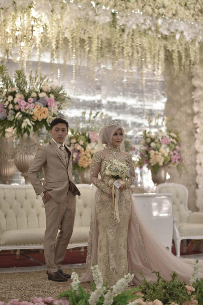 Fay & Dadit Wedding by Garland Galore Flower Shop - 010