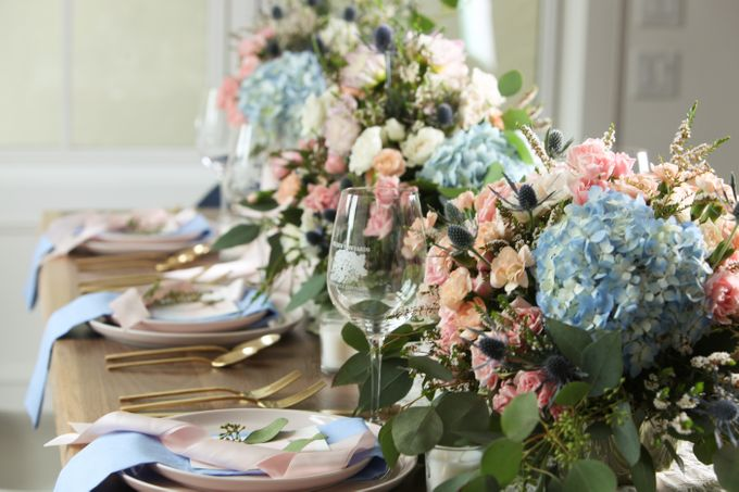 Styled Shoot - Rose Quartz & Serenity by Fleurish Floral Design - 003