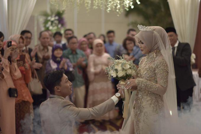 Fay & Dadit Wedding by Garland Galore Flower Shop - 006