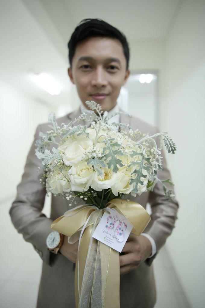 Fay & Dadit Wedding by Garland Galore Flower Shop - 002