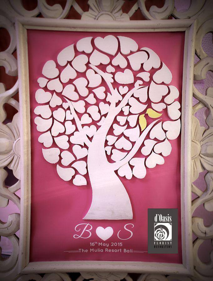 Wedding Pink & Purple Very Romantic by d'Oasis Florist & Decoration - 007