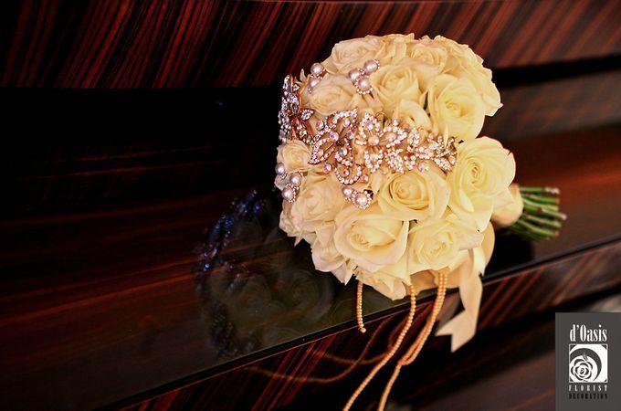 Wedding Pink & Purple Very Romantic by d'Oasis Florist & Decoration - 008