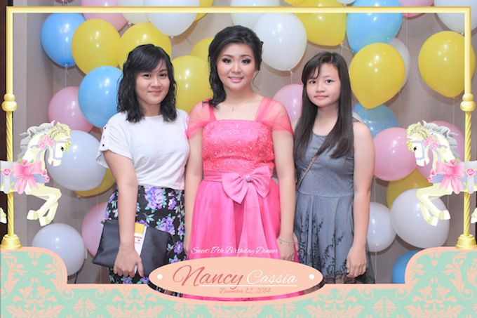 Seventeen Birthday of Nancy by After 5 Photobooth - 007