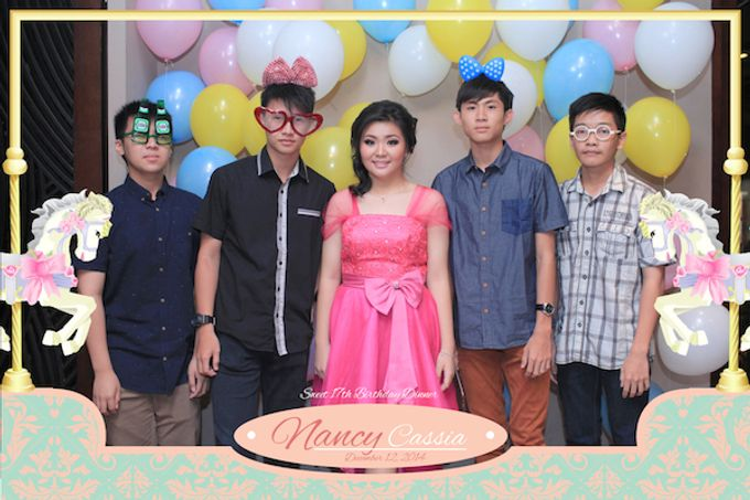 Seventeen Birthday of Nancy by After 5 Photobooth - 012