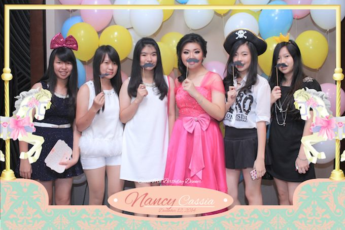Seventeen Birthday of Nancy by After 5 Photobooth - 019