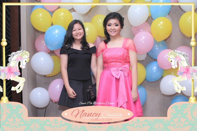 Seventeen Birthday of Nancy by After 5 Photobooth - 020