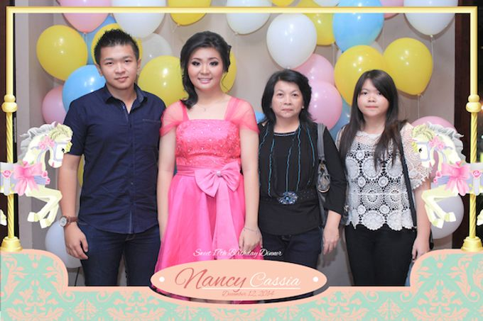 Seventeen Birthday of Nancy by After 5 Photobooth - 021