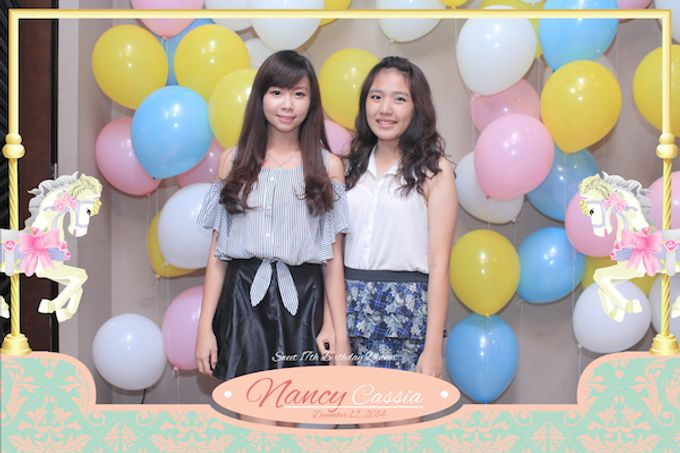 Seventeen Birthday of Nancy by After 5 Photobooth - 023