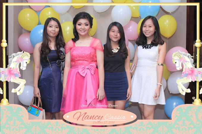 Seventeen Birthday of Nancy by After 5 Photobooth - 025