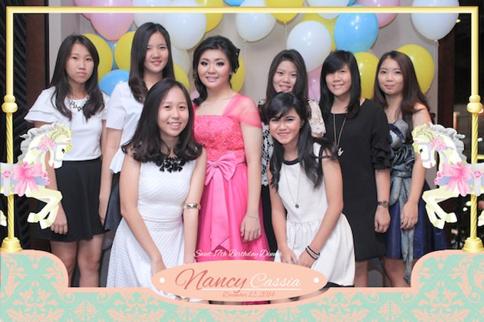 Seventeen Birthday of Nancy by After 5 Photobooth - 027