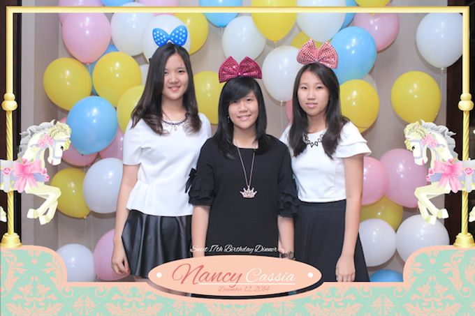 Seventeen Birthday of Nancy by After 5 Photobooth - 029