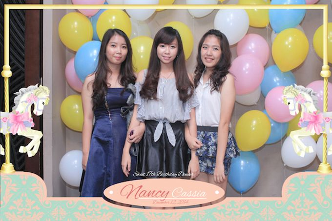Seventeen Birthday of Nancy by After 5 Photobooth - 031