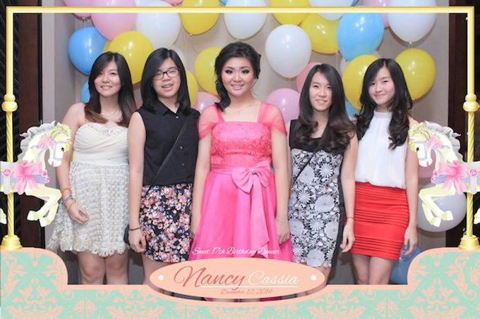 Seventeen Birthday of Nancy by After 5 Photobooth - 039