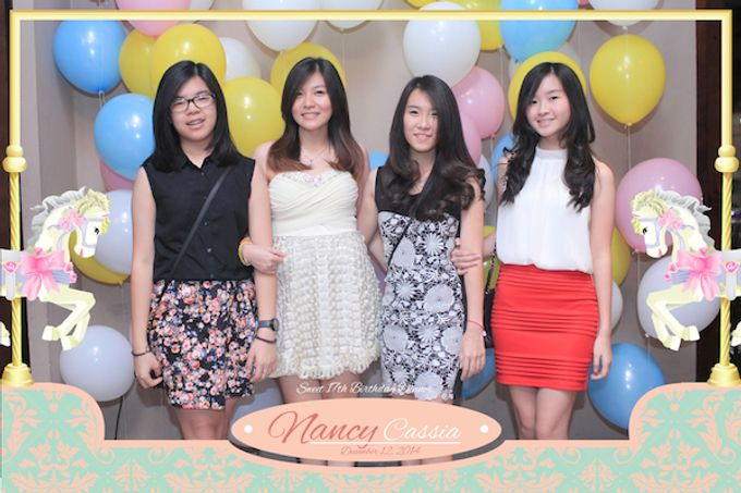 Seventeen Birthday of Nancy by After 5 Photobooth - 040