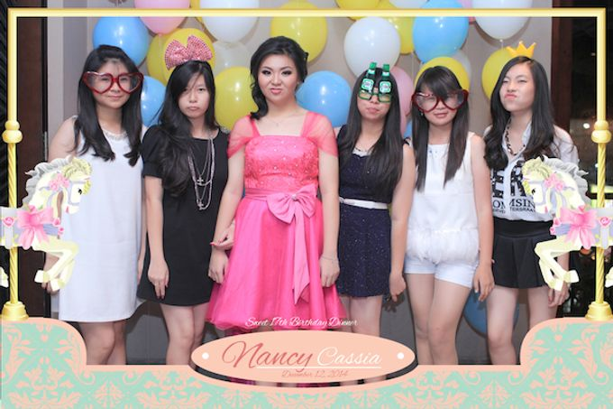 Seventeen Birthday of Nancy by After 5 Photobooth - 050