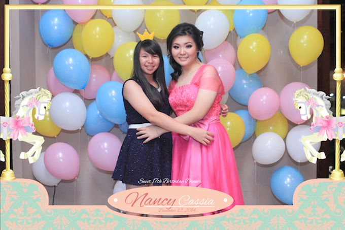 Seventeen Birthday of Nancy by After 5 Photobooth - 059