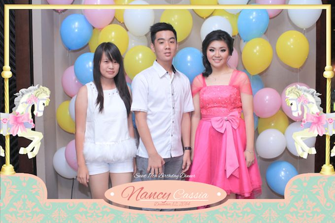 Seventeen Birthday of Nancy by After 5 Photobooth - 061