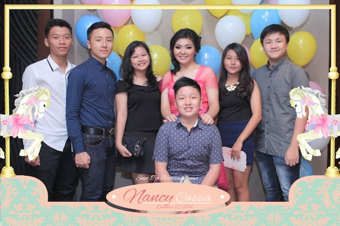 Seventeen Birthday of Nancy by After 5 Photobooth - 062