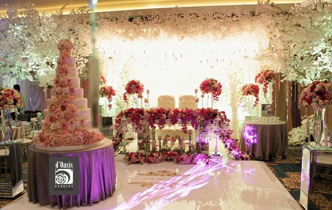 Wedding Pink & Purple Very Romantic by d'Oasis Florist & Decoration - 012