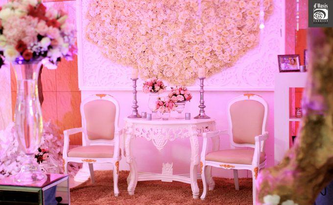Wedding Pink & Purple Very Romantic by d'Oasis Florist & Decoration - 003