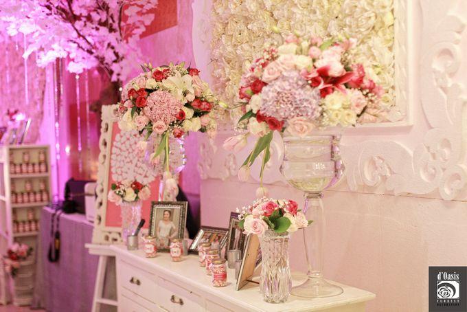 Wedding Pink & Purple Very Romantic by d'Oasis Florist & Decoration - 014