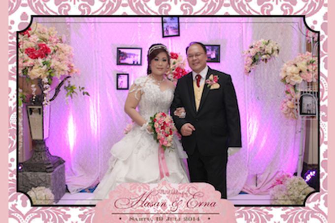 The Wedding of Hasan & Erna by After 5 Photobooth - 001