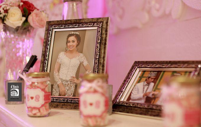 Wedding Pink & Purple Very Romantic by d'Oasis Florist & Decoration - 001