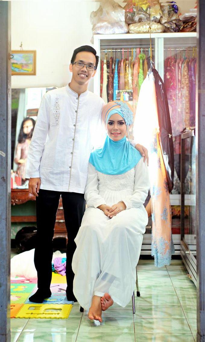 Fathoriq & Azizah Wedding by Lova Fotografia - 008