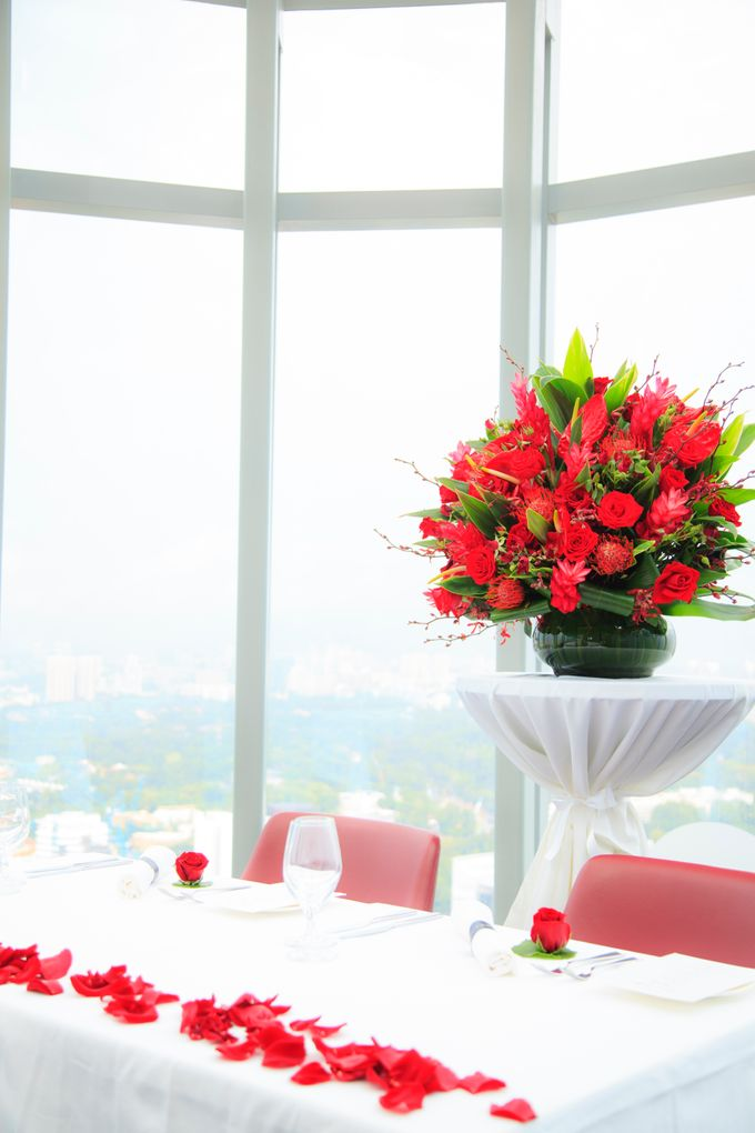 Wedding in the sky by Salt grill  and sky bar by Luke Mangan - 001