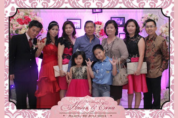 The Wedding of Hasan & Erna by After 5 Photobooth - 002