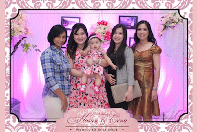 The Wedding of Hasan & Erna by After 5 Photobooth - 003