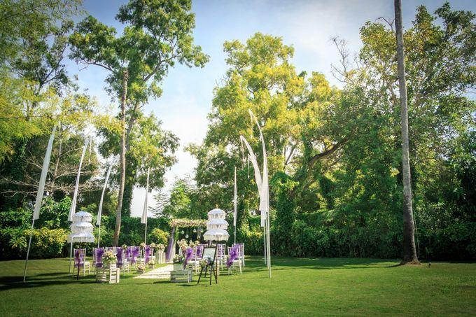 kayumanis jimbaran-wedding ceremony-garden by Kayumanis Private Villa and Spa - 009