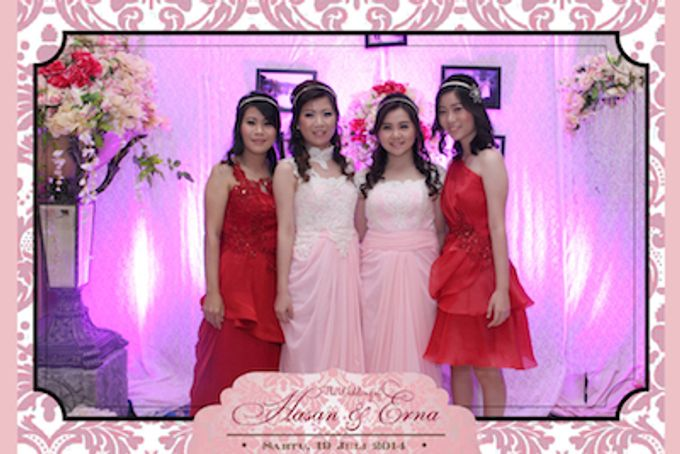 The Wedding of Hasan & Erna by After 5 Photobooth - 004